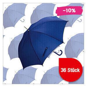 Regenschirm blau