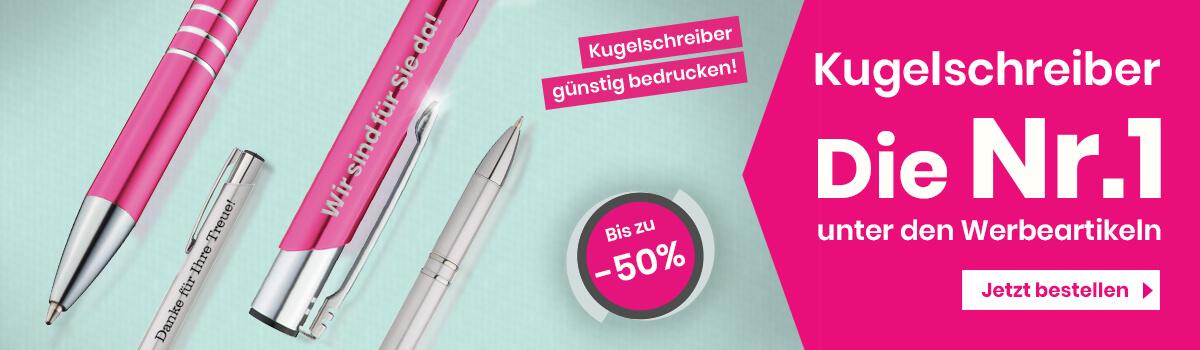 Kugelschreiber – Werbetopshop Ihr Werbeartikel-Discounter