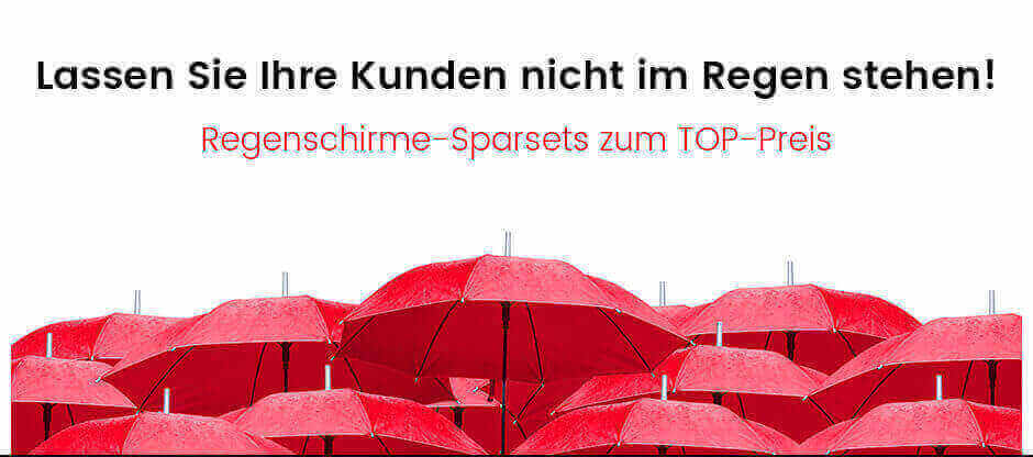 Regenschirme-Sets