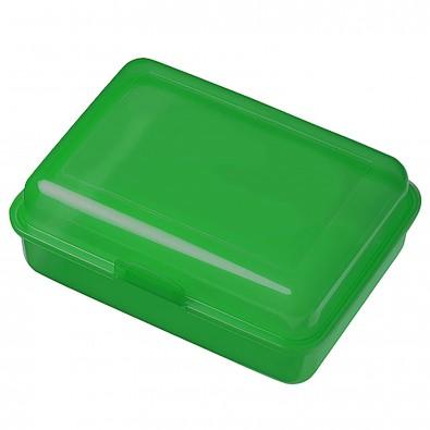 Vorratsdose School-Box groß, hochglänzend trend-grün PP