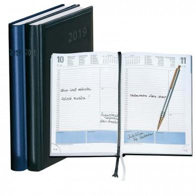 Terminax Datemaster Buchkalender 2019 Blau