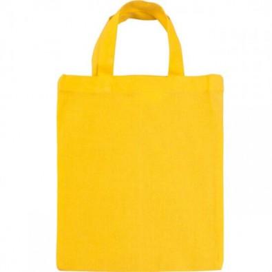 Mini-Baumwolltasche Gelb