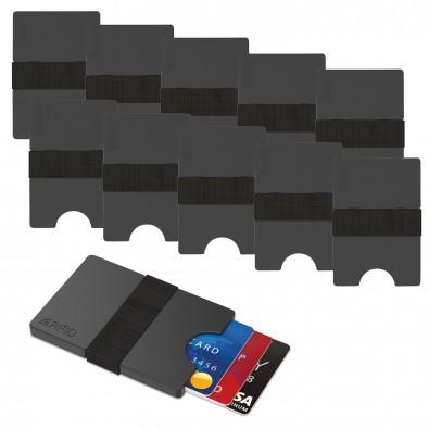 Werbe-Sparset Mini-Portemonnaie, 60-tlg., Grau