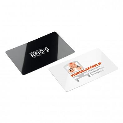 RFID Anti Skim Karte, schwarz/weiß