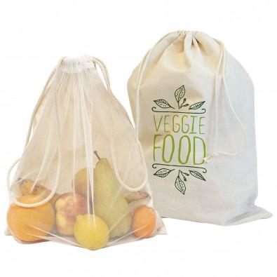 "Baumwoll Veggie Bag ""Colombo"", klein, natur"
