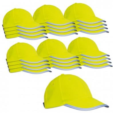Werbe-Sparset Kinder-Sicherheits-Cap, 60-tlg., Gelb