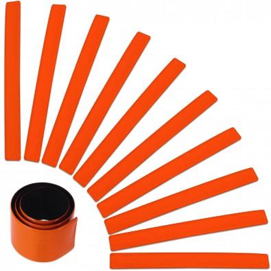 """""""Werbe-Sparset Reflexband """"""""Snap"""""""", 60-tlg., Orange"""""""