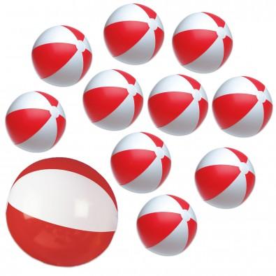 Werbe-Sparset Wasserball, 60-tlg., Rot