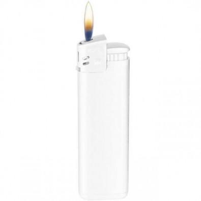 Piezo-Feuerzeug Prestige Weiß