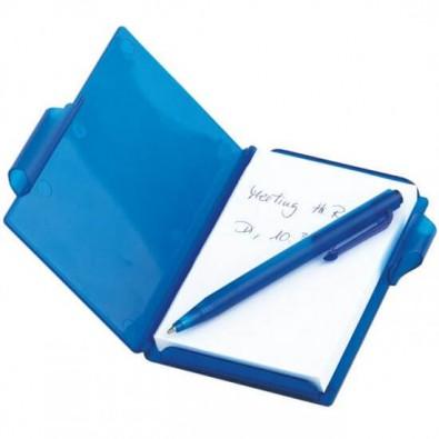 Notizblock-Set, Blau