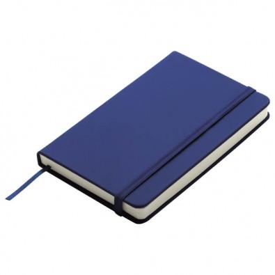 Notizbuch Happy, DIN A5, Blau