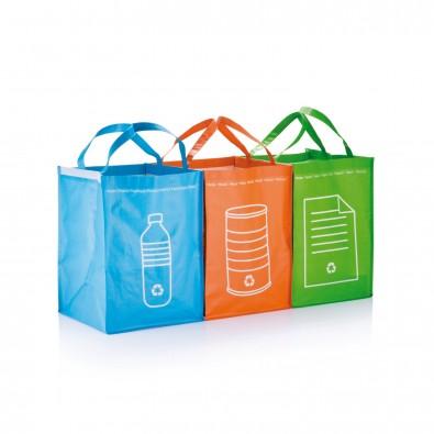 3tlg. Recycling Set, grün