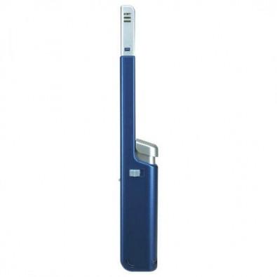 Stabfeuerzeug Flip Blau/Metallic