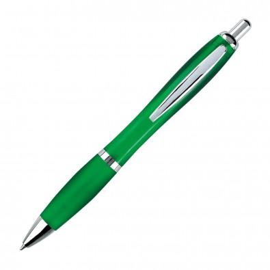 Kugelschreiber Rio Grün/Transparent