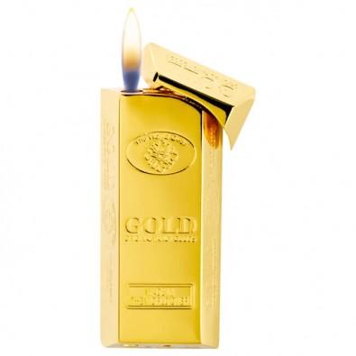 Feuerzeug Goldbarren