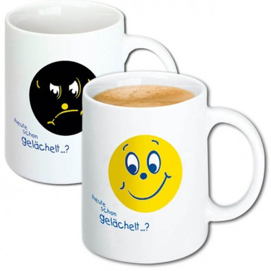 Magic Print-Tasse Smilie