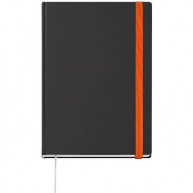 Notizbuch Terminax Smart-Book, A4 Anthrazit/Orange