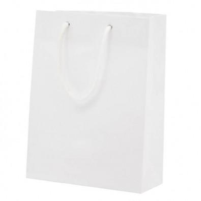 Papiertasche Paper, Groß Weiß | Groß