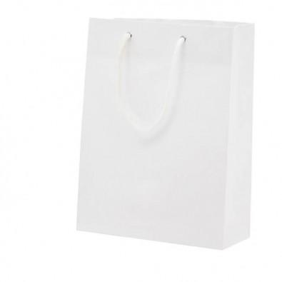 Papier-Tragetasche Paper, klein, Weiß