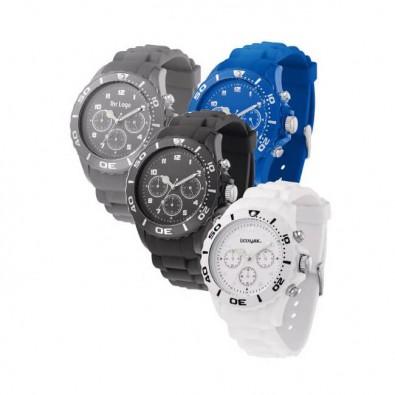 Armbanduhr Style Chrono, Grau Grau