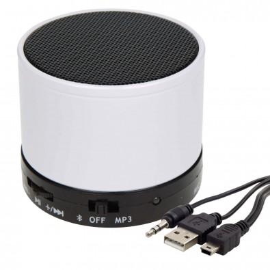Bluetooth-/MP3-Lautsprecher Soundbox, Weiß