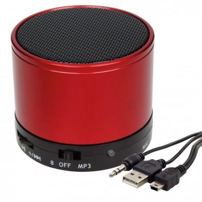 Bluetooth-/MP3-Lautsprecher Soundbox, Rot