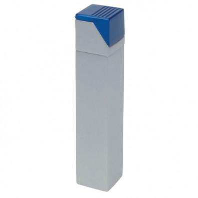 Turbo-Metall-Sturmfeuerzeug Tower Silber/Blau