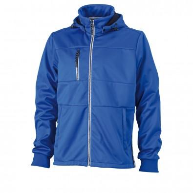 Original James & Nicholson Maritime-Jacke für Herren Nautic-Blue/Navy-White   M