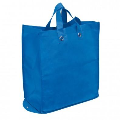 Faltbare Vlies-Einkaufstasche Amica Blau