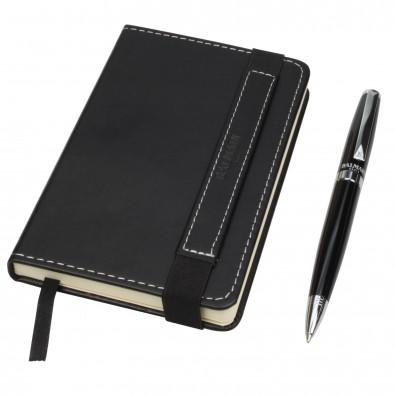 Balmain Business-Set Kugelschreiber und Notizbuch Molière