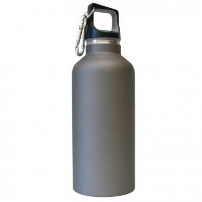 Vakuum-Isolierflasche Bottle Titan/Matt
