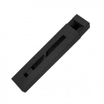 Kugelschreiber-Pappetui, Schwarz