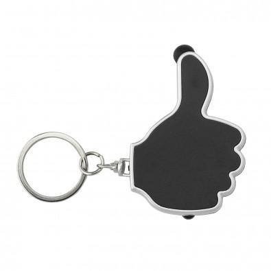 Schlüsselanhänger Like Schwarz