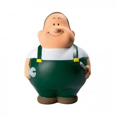 Anti-Stress-Figuren Handwerker Bert, grün ®