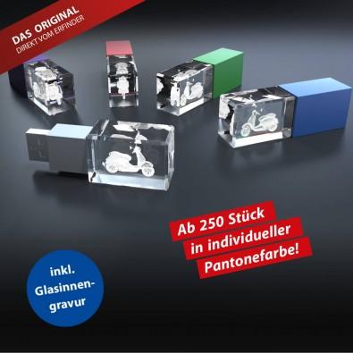 USB-Stick 3D Individual COLOUR, 4 GB