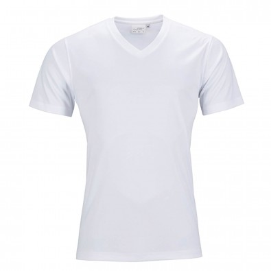 Original James & Nicholson Damen Funktions T-Shirt Active White | L