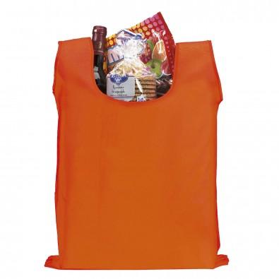 Faltbare Einkaufstasche Easy Orange