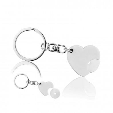 Schlüsselanhänger Heart mit Chip