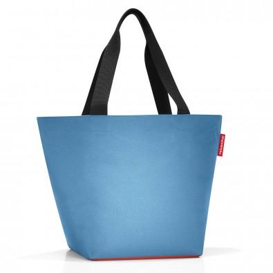 Original Reisenthel® Shopper M, Denim Russet, Blau