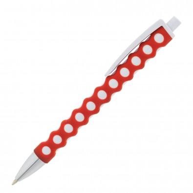 Kugelschreiber Nairobi Rot/Weiß