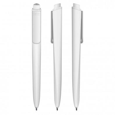 Druckkugelschreiber Premec Torsion Weiß