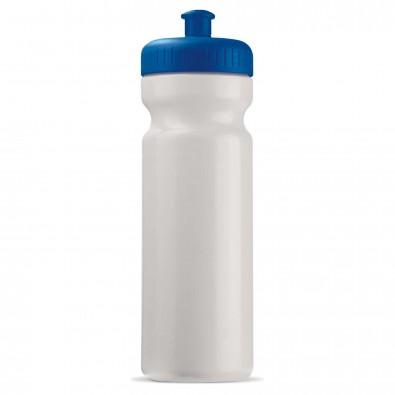Trinkflasche 0,75 L Weiß/Blau
