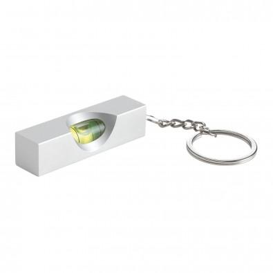 Schlüsselanhänger mit Mini-Wasserwaage, mit Wasserwaage