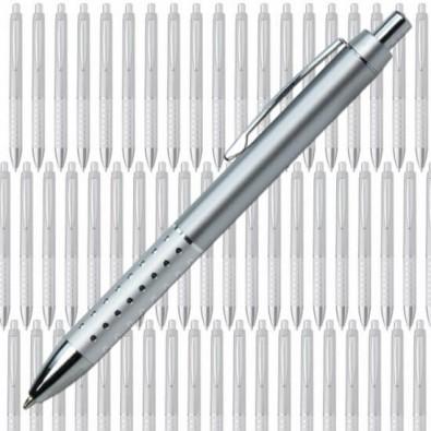 Werbe-Set: 300 Kugelschreiber Hollywood, Silber
