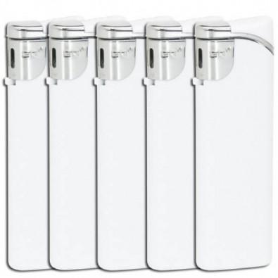 Werbe-Set: 500 Feuerzeuge im Streuartikel-Set, Weiß