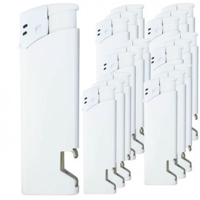 Werbe-Set: 500 Werbefeuerzeuge im Set Weiß