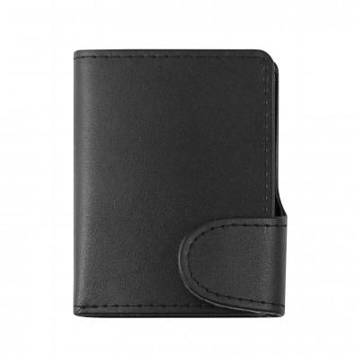 BLACKMAXX® Geldbörse IWalletDeLuxeDuo, schwarz
