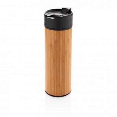 Bogota Vakuum Bambus Becher, braun