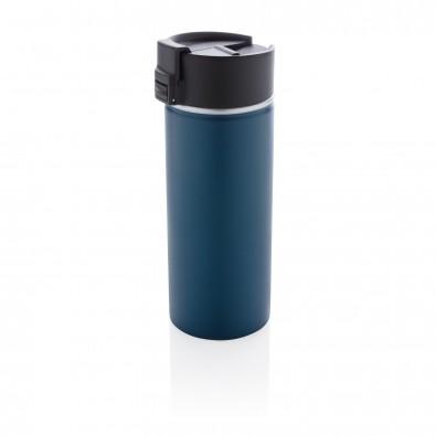 Bogota Vakuum Kaffeebecher mit Keramik-Coating, blau