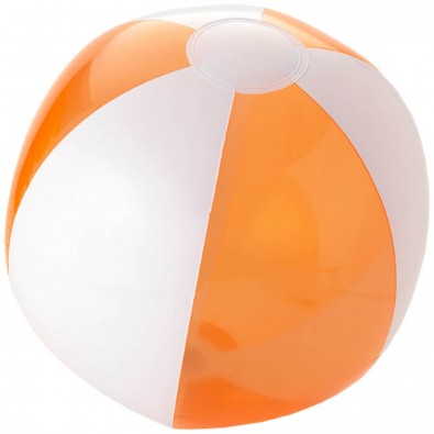 Bondi Wasserball, transparent orange,weiss